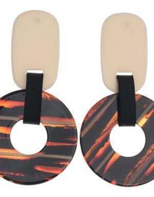7bbb4bdf360c Pendientes grandes con disco. Diferentes colores