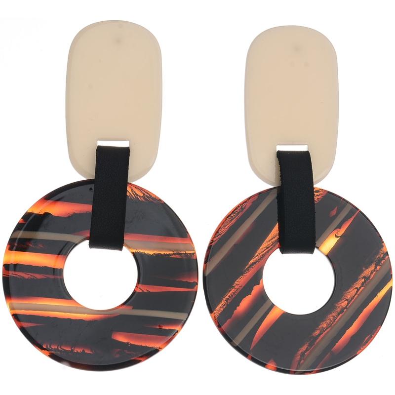 f756825f9c9d Pendientes grandes con disco. Diferentes colores - Pope Complementos