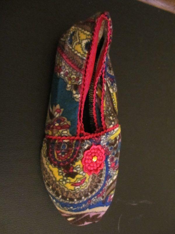 Zapatillas de viaje adaptables. Mnipur Pink