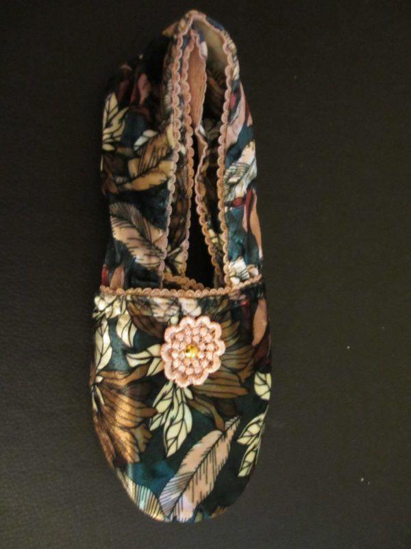 Zapatillas de viaje adaptables. Nature pink vintage