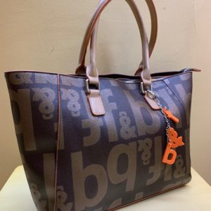Bolso shopping Fun&Basic con letras