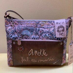 Bolso cruzar Anekke multicolor colección music