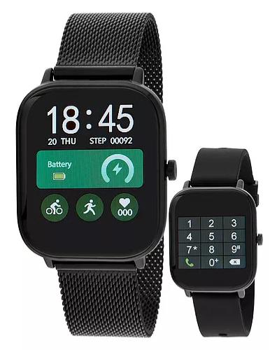 Reloj Marea B58006 bloototh talk y multifunción. Negro-negro