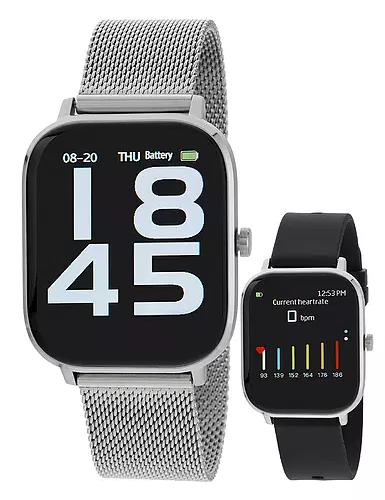 Reloj Marea B58006 bloototh talk y multifunción. Plata-negro